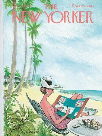 The New Yorker Cover - December 12, 1964