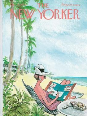 The New Yorker Cover - December 12, 1964 by Charles Saxon