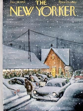 The New Yorker Cover - December 19, 1959