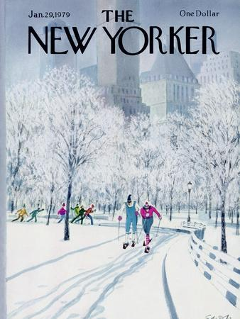 The New Yorker Cover - January 29, 1979