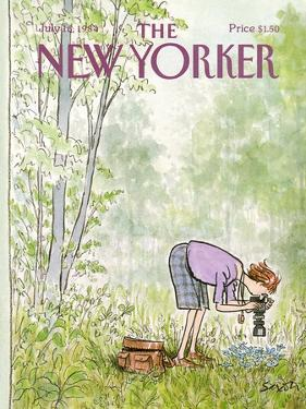 The New Yorker Cover - July 16, 1984 by Charles Saxon