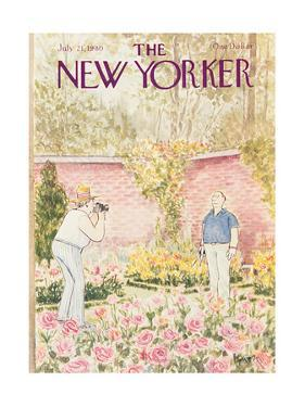 The New Yorker Cover - July 21, 1980 by Charles Saxon