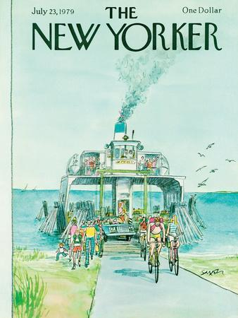 The New Yorker Cover - July 23, 1979