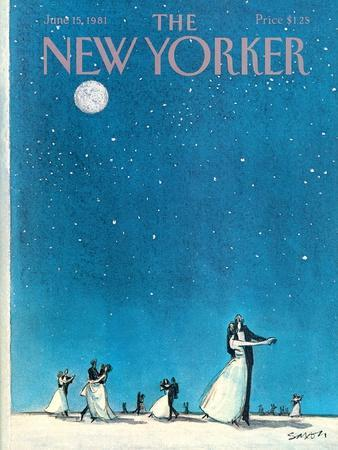 The New Yorker Cover - June 15, 1981