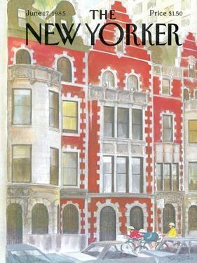The New Yorker Cover - June 17, 1985 by Charles Saxon