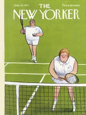 The New Yorker Cover - June 19, 1971 by Charles Saxon