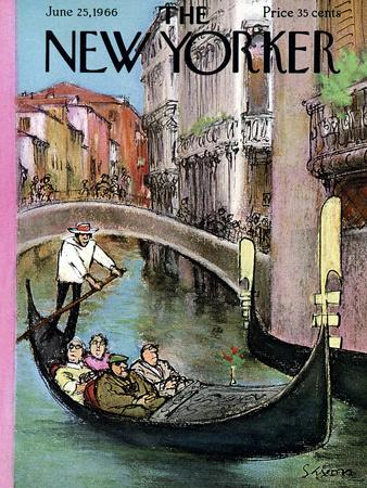 The New Yorker Cover - June 25, 1966