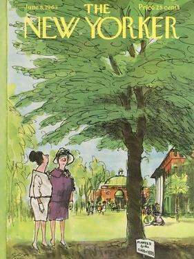 The New Yorker Cover - June 8, 1963 by Charles Saxon