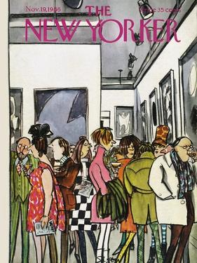 The New Yorker Cover - November 19, 1966 by Charles Saxon