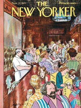 The New Yorker Cover - November 27, 1971 by Charles Saxon