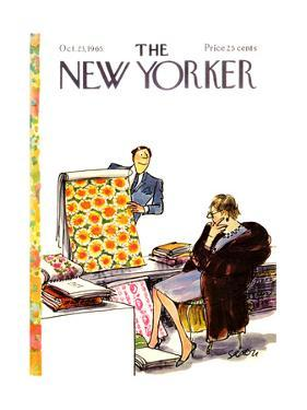 The New Yorker Cover - October 23, 1965 by Charles Saxon