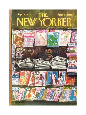 The New Yorker Cover - September 24, 1973