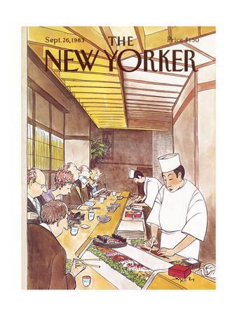 The New Yorker Cover - September 26, 1983