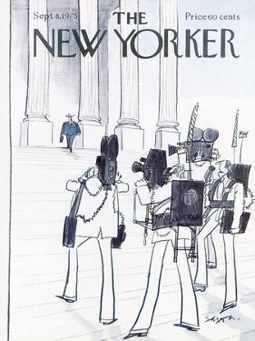 The New Yorker Cover - September 8, 1975 by Charles Saxon