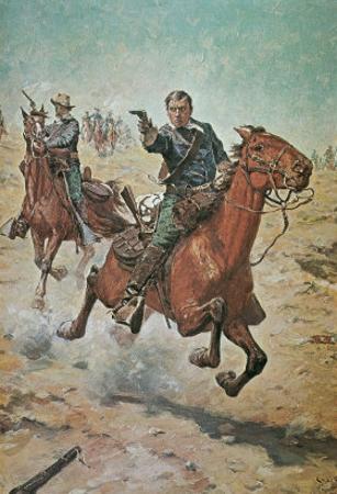 Dead Sure: A U.S. Cavalry Trooper in the 1870S