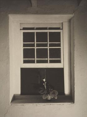 Doylestown House, Open Window, Negative about 1917 by Charles Sheeler