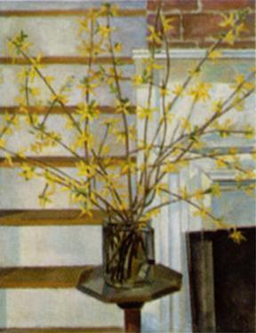 Spring Interior by Charles Sheeler