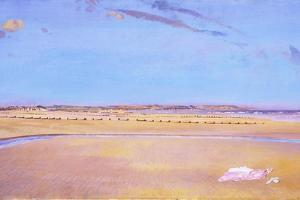 The Sands at Dymchurch by Charles Sims