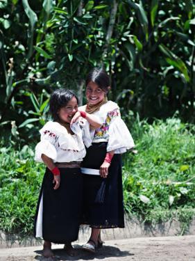 Back-strap Weaving, Ecuador by Charles Sleicher