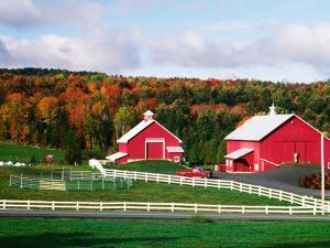 Farm near Peacham, Vermont, USA by Charles Sleicher