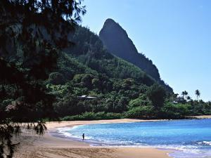 Hanalei Bay and Bali Hai, South Pacific, Hawaii, USA by Charles Sleicher