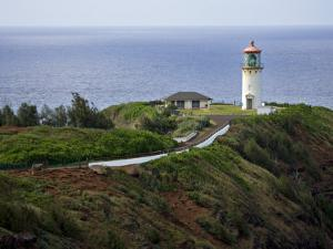Kilauea Lighthouse, Kauai, Hawaii, USA by Charles Sleicher
