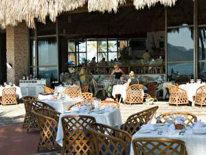 Main Dining Room of the El Cid El Moro Hotel, Mazatlan, Mexico by Charles Sleicher