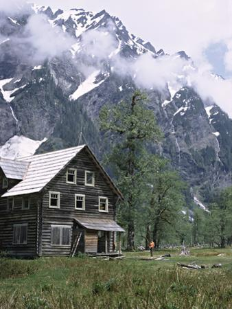 The Chalet in the Enchanted Valley, Olympic National Park, Washington, USA by Charles Sleicher