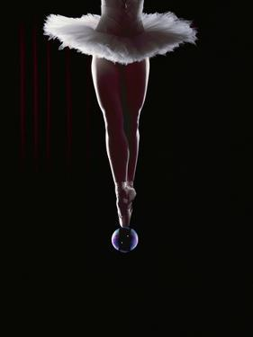 Ballerina Balancing on a Bubble by Charles Smith