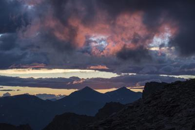 Dramatic Sky over Mount Evans Wilderness in Colorado by Charles Smith