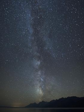 Milky Way Above the Teton Mountain Range by Charles Smith