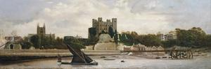 Rochester Castle by Charles Spencelayh