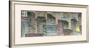City by Night I by Charles Swinford