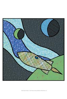 Patchwork Planets I by Charles Swinford