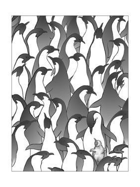 Penguin Family I by Charles Swinford