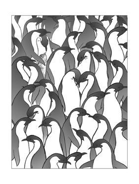 Penguin Family II by Charles Swinford
