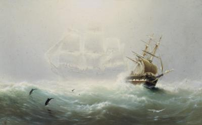 The Flying Dutchman by Charles Temple Dix
