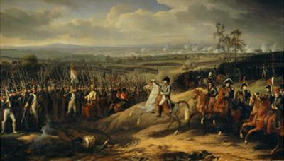 Battle of Jena, October 14Th, 1806. Napoleon before His Troops