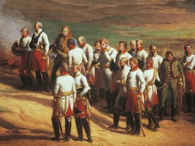 Ulm, October 20, 1805, Austrian General Karl Mack and His Staff Surrendering to Napoleon