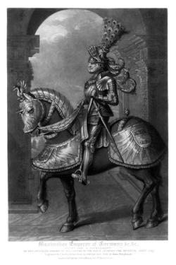 Maximilian I, Holy Roman Emperor by Charles Turner