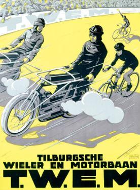 Verschuuren T.W.E.M. Cycling and Motor Race by Charles Verschuuren