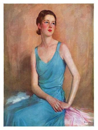 """""""Blue Dress,""""February 4, 1933"""