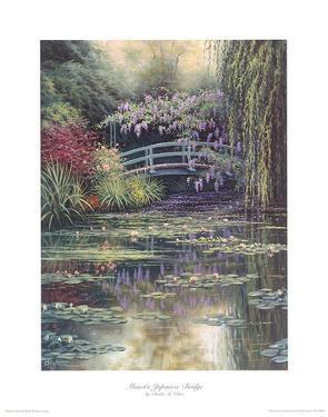 Monet's Japanese Bridge by Charles White