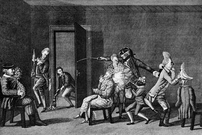 The Macarony Dressing Room, 1772