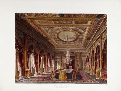 The Throne Room, Carlton House, 1819