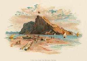 Gibraltar from the Neutral Ground by Charles Wilkinson
