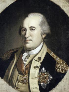 Gen Frederick W Von Steuben by Charles Willson Peale