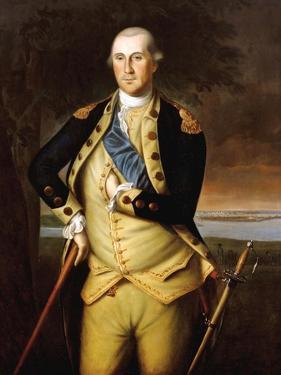 George Washington by Charles Willson Peale
