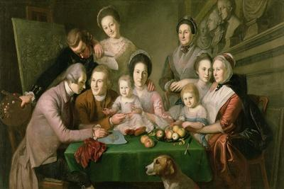 The Peale Family, C.1770-3