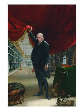 The Artist in His Museum by Charles Wilson Peale